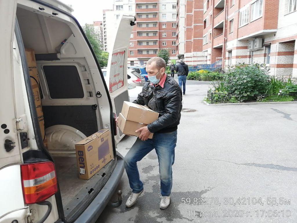 Перевозка вещей с грузчиками