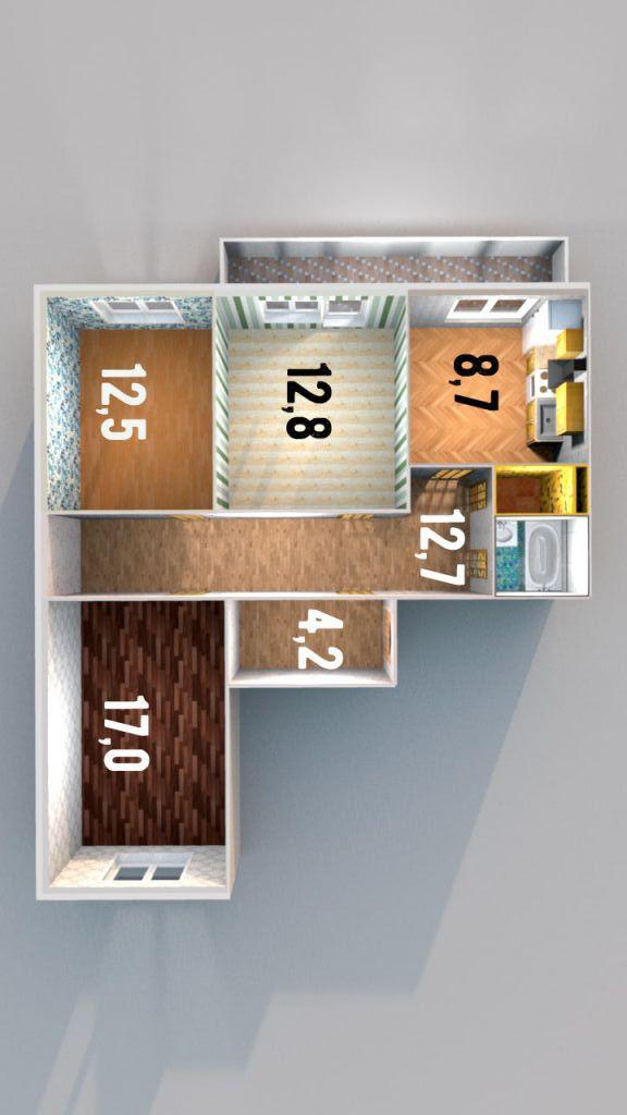 Продажа 3 комн.квартиры в Колпино